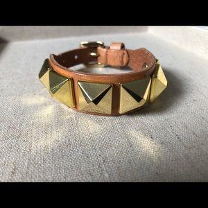 Linea Pelle studded leather bracelet